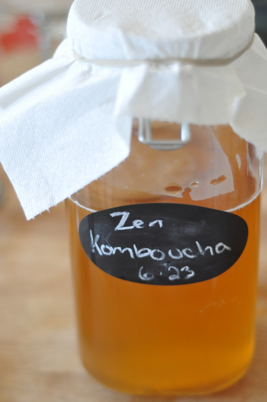 Komboucha Brewing