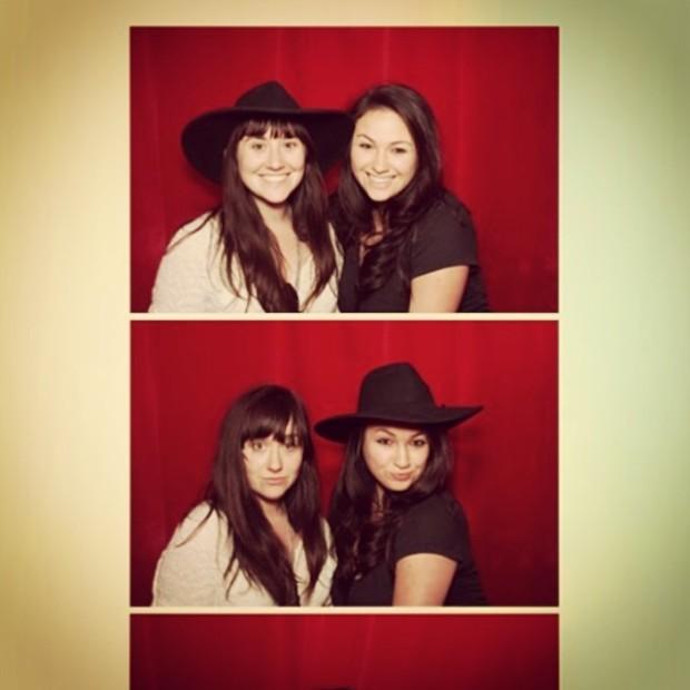 Ilana and Cara