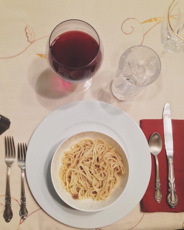 Plain pasta