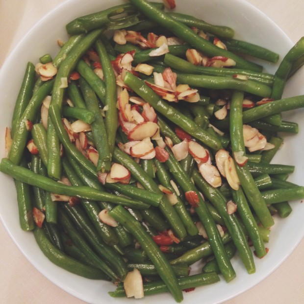 Thanksgiving green beans