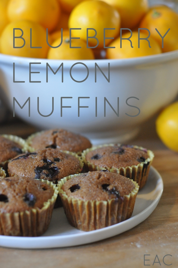 GF Blueberry Lemon Muffins